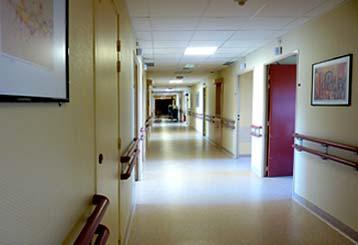 des couloirs des hôpitaux...